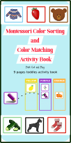 Color Matching Games for Kindergarten and Toddlers