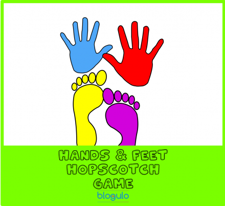 Colorful Hands and feet