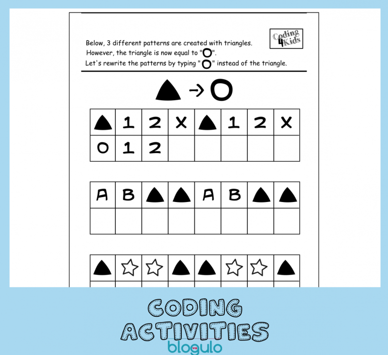 Coding and Algorithm Activities for Kids-Shapeshifting